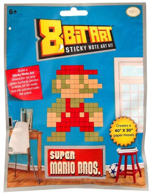 "8-Bit Art 40"" x 30"" Mario Sticky Note Art Kit [Standing]"