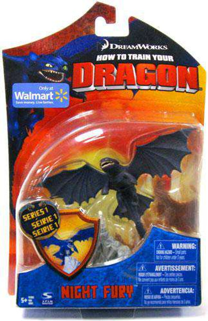 How to Train Your Dragon Night Fury Exclusive Action Figure [Toothless, Damaged Package]