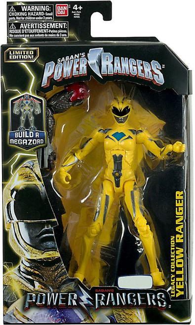 Power Rangers Movie Legacy Build A Megazord Yellow Ranger Exclusive Action Figure [Movie]
