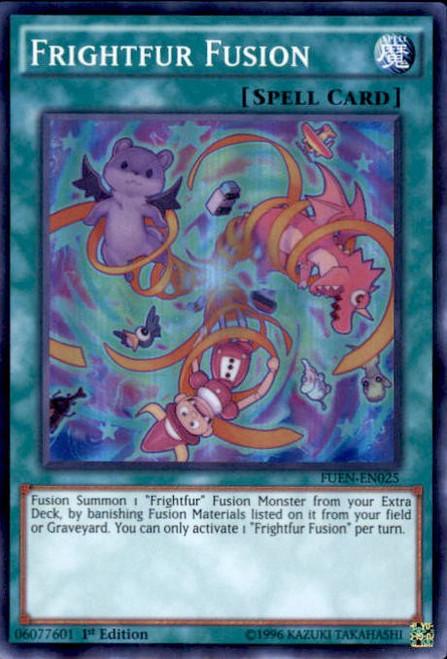 YuGiOh Fusion Enforcers Super Rare Frightfur Fusion FUEN-EN025