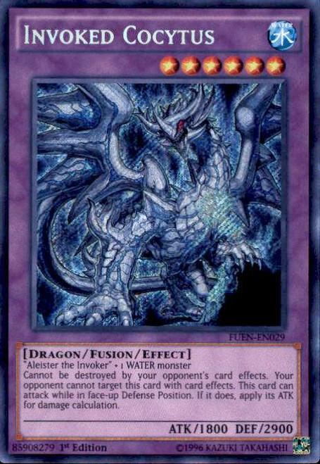 YuGiOh Fusion Enforcers Secret Rare Invoked Cocytus FUEN-EN029