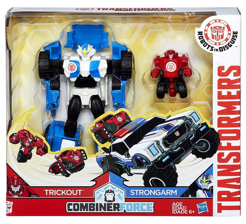 Transformers Robots in Disguise Activators Strongarm & Trickout Action Figure [Combiner Force]