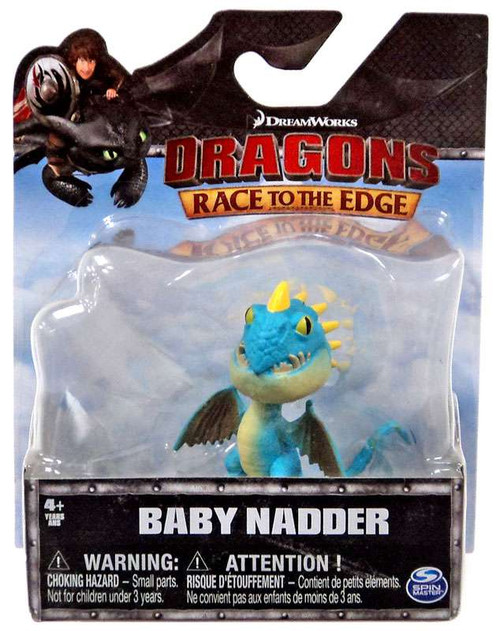 How to Train Your Dragon Race to the Edge Baby Nadder 3-Inch Mini Figure