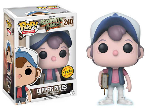Funko Gravity Falls POP! Animation Dipper Pines Vinyl Figure #240 [Chase Version]