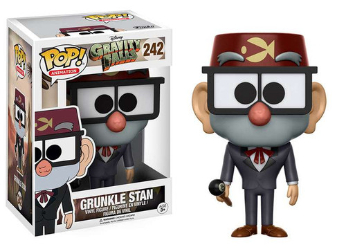 Funko Gravity Falls POP! Animation Grunkle Stan Vinyl Figure #242