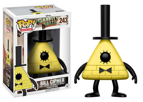 Funko Gravity Falls POP! Animation Bill Cipher Vinyl Figure #243 [Yellow, Regular Version]