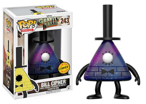 Funko Gravity Falls POP! Animation Bill Cipher Vinyl Figure #243 [Purple, Chase Version]