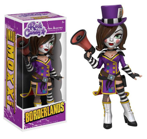 Funko Borderlands Rock Candy Mad Moxxi Vinyl Figure [Purple Outfit, Regular Version]