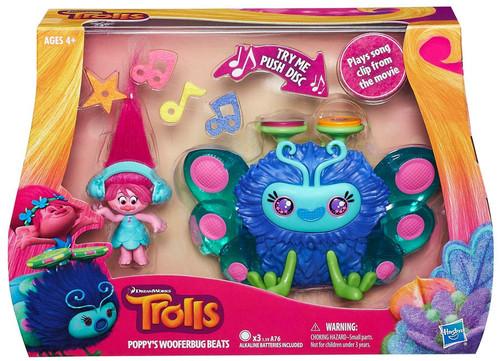 Trolls Poppy's Wooferbug Beats Playset