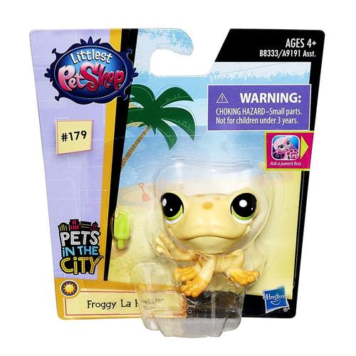 Littlest Pet Shop Pets in the City Froggy La Rana #179