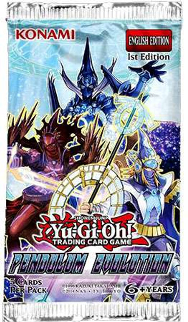 YuGiOh Trading Card Game Pendulum Evolution Booster Pack