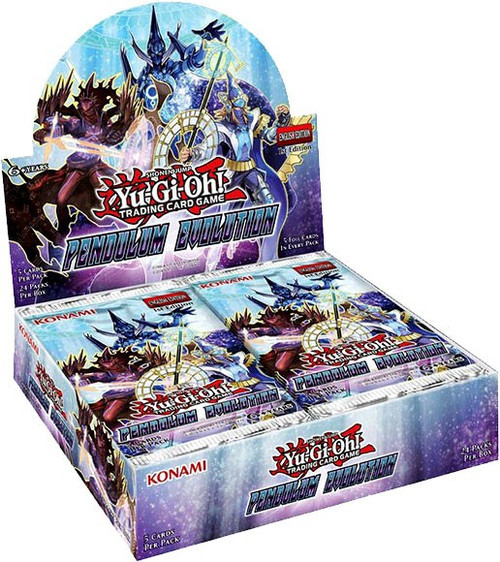 YuGiOh Trading Card Game Pendulum Evolution Booster Box [24 Packs]