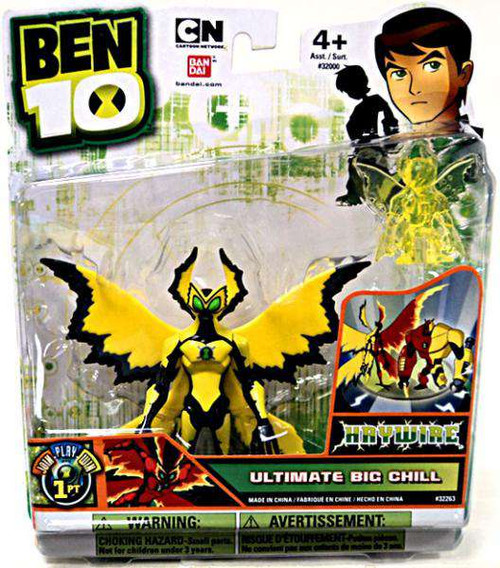 Ben 10 Ultimate Alien Big Chill Action Figure [Ultimate, Haywire, Loose]