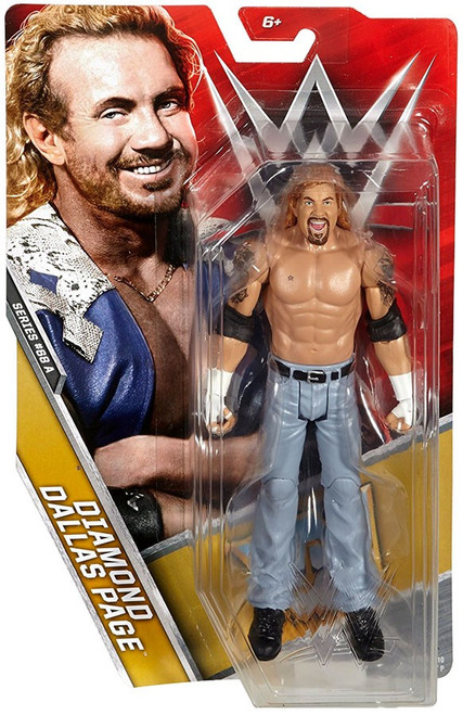 WWE Wrestling Series 68 Diamond Dallas Page Action Figure