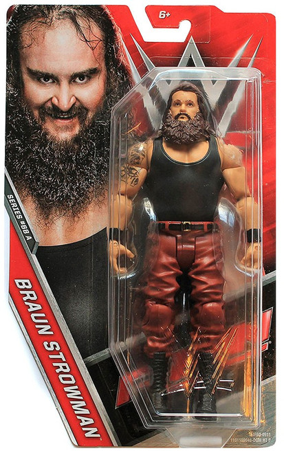 WWE Wrestling Series 68 Braun Strowman Action Figure