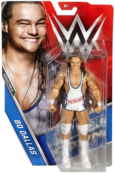 WWE Wrestling Series 68 Bo Dallas Action Figure