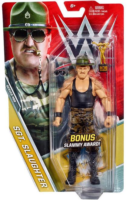 WWE Wrestling Series 69 Sgt. Slaughter Action Figure [Bonus Slammy Award]