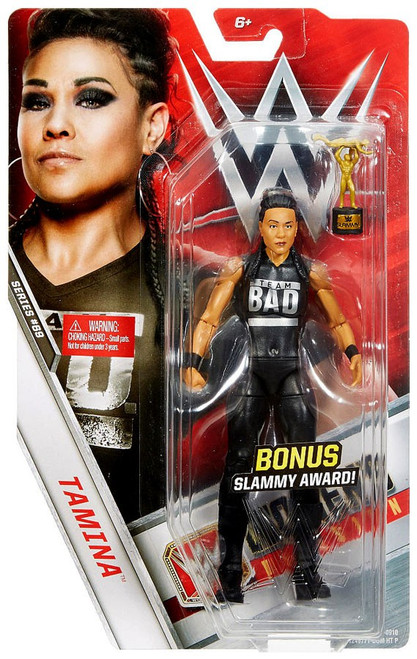 WWE Wrestling Series 69 Tamina Action Figure [Bonus Slammy Award]