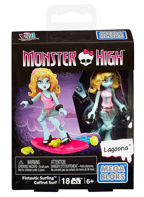 Mega Bloks Monster High Fintastic Surfing Coffret Surf Set DPK41 [Lagoona]