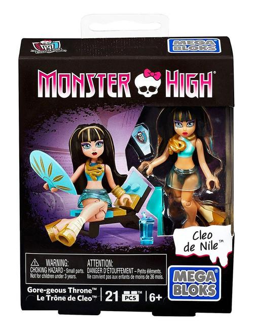 Mega Bloks Monster High Gore-geous Throne Set DPK40 [Cleo de Nile]