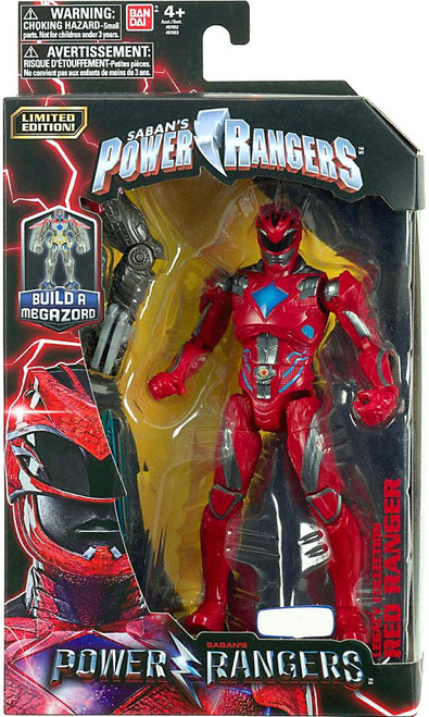 Power Rangers Movie Legacy Build A Megazord Red Ranger Exclusive Action Figure [Movie]