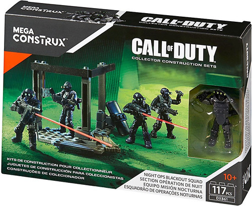 Call of Duty Night Ops Blackout Squad Set