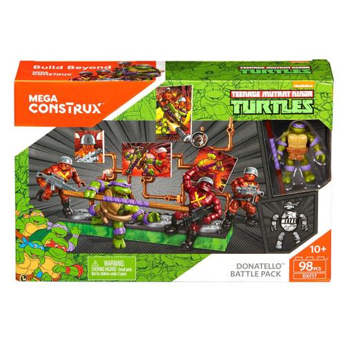 Mega Construx Teenage Mutant Ninja Turtles Donatello Battle Pack