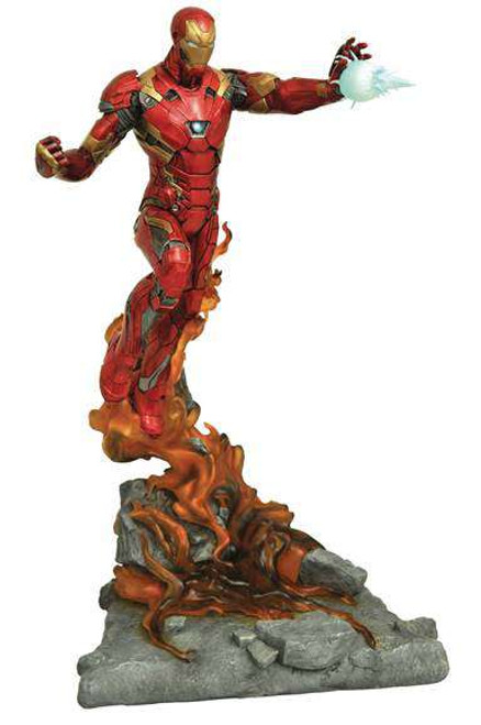 Marvel Civil War Milestones Iron Man 12-Inch Statue