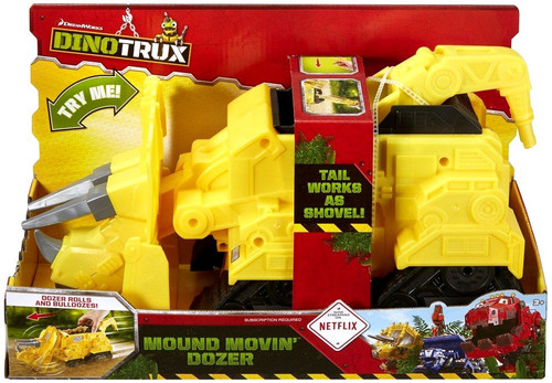 Dinotrux Mound Movin' Dozer Deluxe Figure
