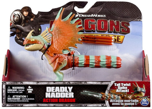 How to Train Your Dragon Race to the Edge Action Dragon Deadly Nadder Action Figure [Tail Twist Spike Attack!]