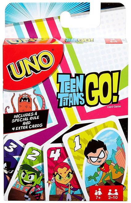 Teen Titans Go! UNO Card Game
