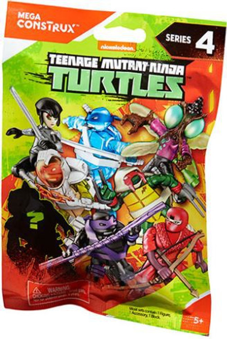 Mega Construx Teenage Mutant Ninja Turtles Animation Series 4 Mystery Pack