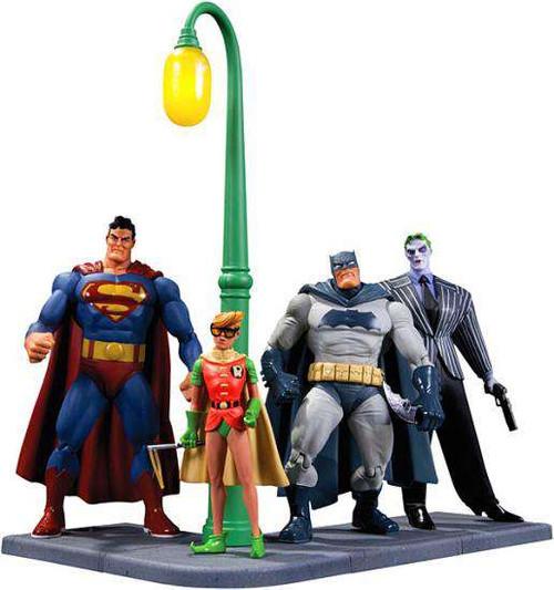 Batman Dark Knight Returns Action Figure 4-Pack [Damaged Package]