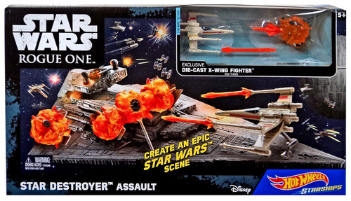 Hot Wheels Star Wars Star Destroyer Assault Playset
