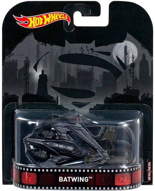 Hot Wheels Batman v Superman HW Retro Entertainment Batwing Diecast Car