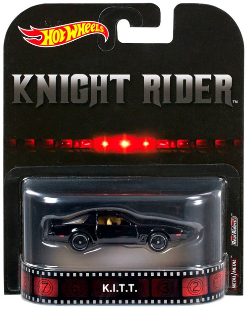 Hot Wheels Knight Rider HW Retro Entertainment K.I.T.T. Die-Cast Car
