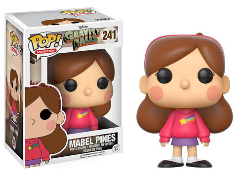 Funko Gravity Falls POP! Animation Mabel Pines Vinyl Figure #241