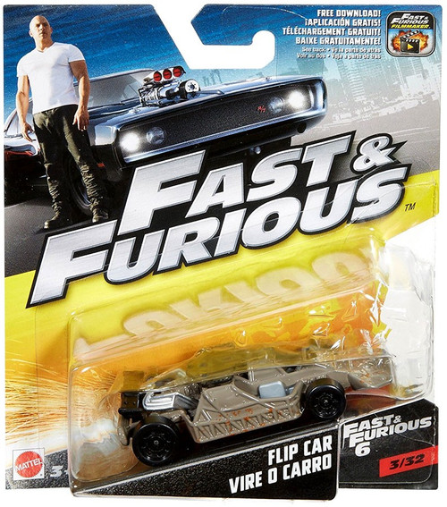 The Fast and the Furious Fast & Furious 6 Flip Car Diecast Car #3/32