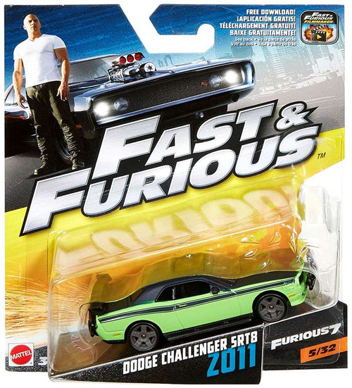 The Fast and the Furious Furious 7 Dodge Challenger SRT8 Z011 Diecast Car #5/32