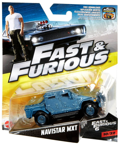 The Fast and the Furious Fast & Furious 6 Navistar MXT Diecast Car #10/32