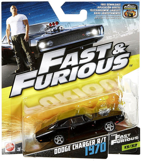 The Fast and the Furious Dodge Charger R/T 1970 Diecast Car #13/32