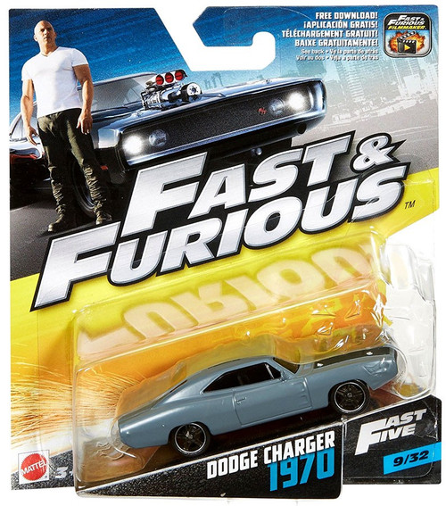 The Fast and the Furious Fast Five Dodge Charger 1970 Diecast Car #9/32