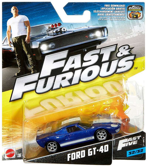 The Fast and the Furious F8 Ford GT-40 Diecast Car #32/32