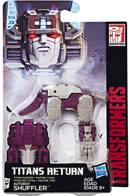 Transformers Generations Titans Return Shuffler Master Action Figure