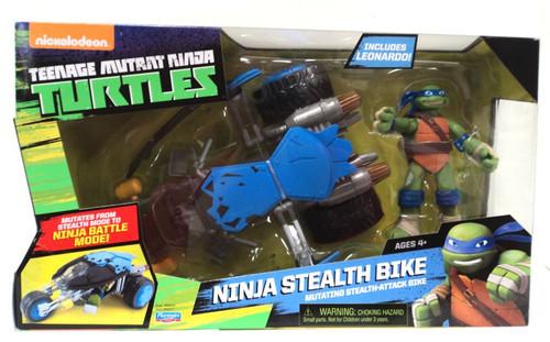 Teenage Mutant Ninja Turtles Nickelodeon Ninja Stealth Bike Action Figure Vehicle [Includes Leonardo]