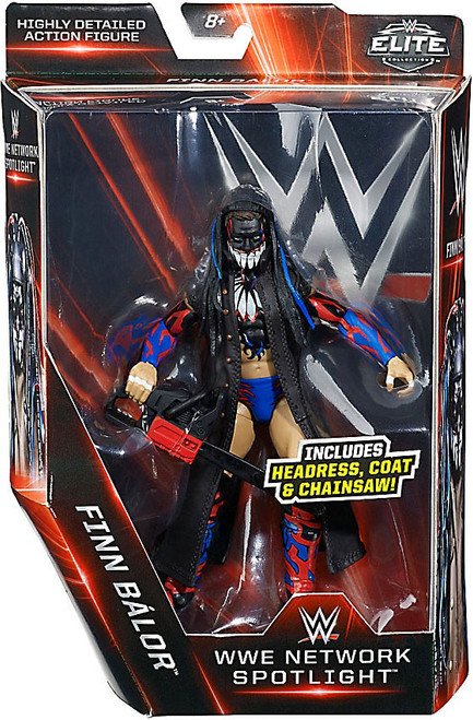 WWE Wrestling Elite Network Spotlight Finn Balor Exclusive Action Figure [Headress, Coat & Chainsaw]