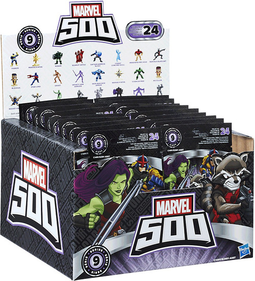 Marvel 500 Micro Series 9 Mystery Box [24 Packs]
