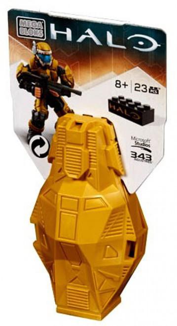 Mega Bloks Halo Series 4 ODST Metallic Drop Pod Set DPP66 [Gold]