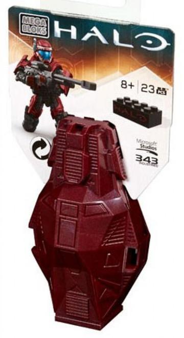 Mega Bloks Halo Series 4 ODST Metallic Drop Pod Set DPP68 [Crimson]