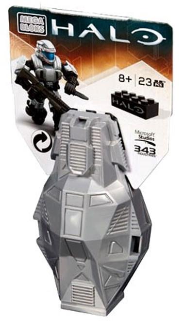 Mega Bloks Halo Series 4 ODST Metallic Drop Pod Set DPP67 [Silver]